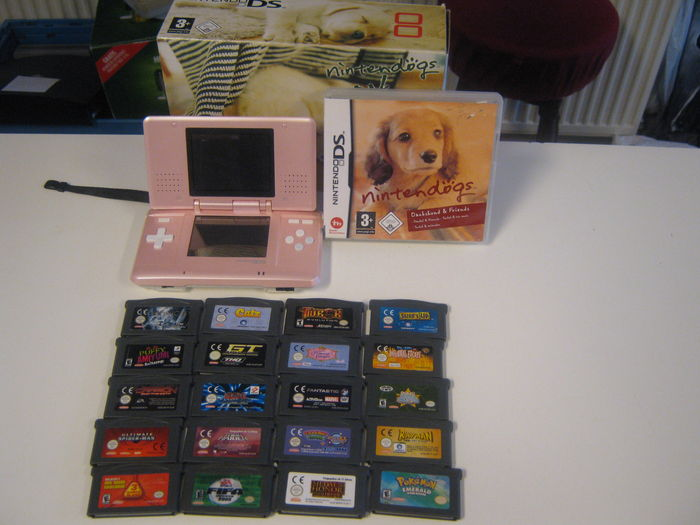 ds lite pokemon games