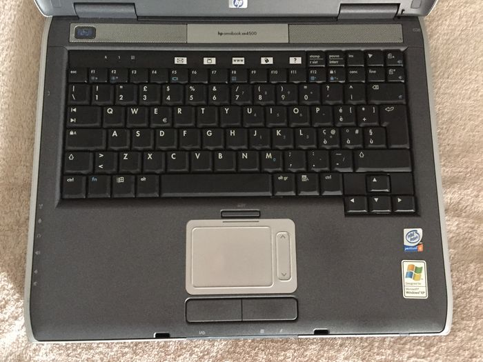 HP OMNIBOOK XE4500 AUDIO DRIVER WINDOWS XP