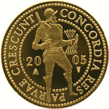 The Netherlands – Double ducat 2005 in coffer – gold