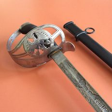 Prussian sabre from the 1st Imperial Guard regiment