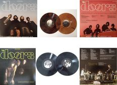 "The Doors Lot Of  2 x2  LP´s  ""Waiting For The Midnight Sun""  &   ""Absolutely Rare"""