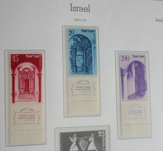 Israel 1954/1980 – Collection in 2 Leuchtturm albums