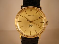 Rolex Precision – Men's wristwatch – Year 1973 – Engraved: 'Fideuram'.