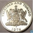 Trinidad and Tobago 25 cents 1974 (FM - PROOF)