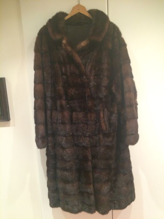 Michel Lejeune brown mink coat, Brussels
