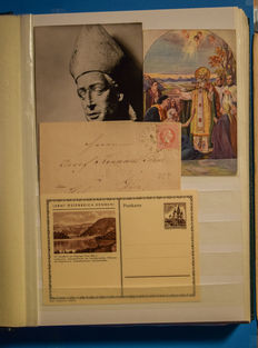 Austria – Large batch of postal items, including special collection Florisdorf + other items
