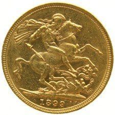 Australia – 1 Sovereign 1899-M (Melbourne) – Victoria – gold