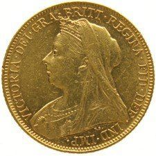 Australia – 1 Sovereign 1899- M  (Melbourne) – Victoria – Gold