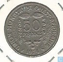 "West African States 50 francs 1974 ""F.A.O."""