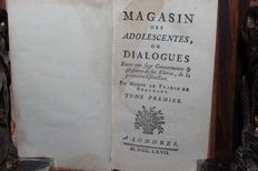 Jeanne-Marie Leprince de Beaumont - Magasin des adolescentes - 4 volumes in 2 binding - 1767