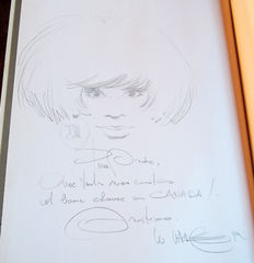 XIII vol. 9 - Pour maria + dedication drawing - Deluxe hc (1992)