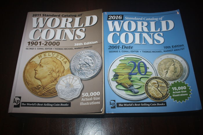 Standard Krause World Coins Catalog 1901 - 2000 and
