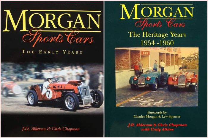 Books - 2 volumes - Morgan Sports Cars - 2007 (2 items)