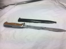 Krag-Jørgensen bayonet 1894 model was also produced by Germany and Norway among others.
