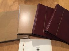 Berlin and BRD 1948/1989 – Collection on Leuchtturm pages and in 4 Safe albums