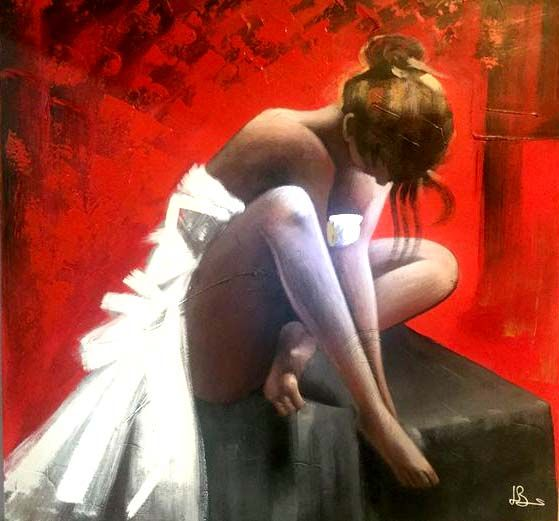 Unknown - Young ballet dancer