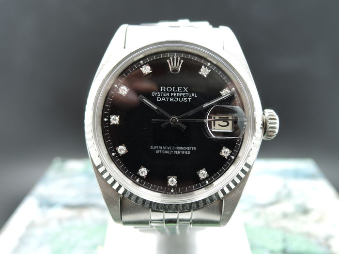 edec7157afa Rolex Datejust 1601 Diamond – Unisex watch – 1967 - Catawiki