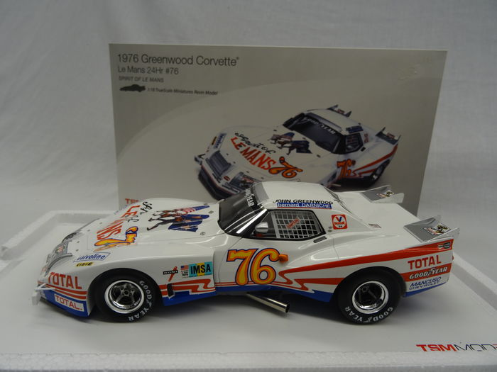 tsm model scale 1 18 chevrolet corvette le mans 1976 76 catawiki. Black Bedroom Furniture Sets. Home Design Ideas