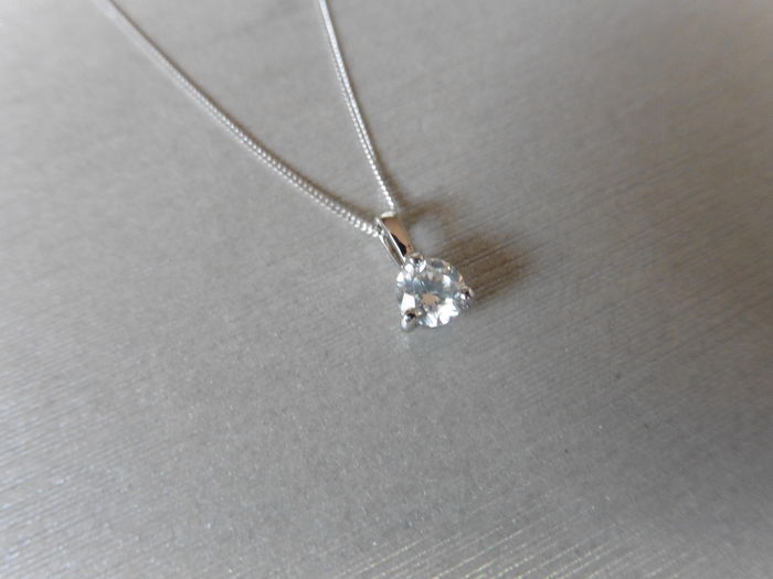 Platinum Diamond Pendant - 0.30 ct
