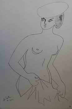Jean Cocteau (after) - Actrice