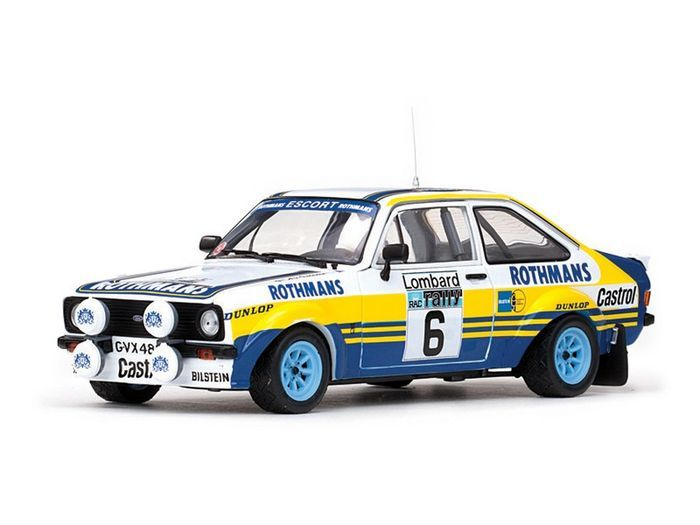 Sunstar - 1:18 - Ford Escort RS1800 - #6 Rothmans - Lombard RAC Rally 1979 - Limited 1099 pcs.