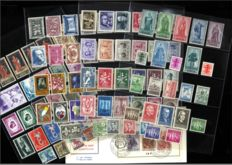 Belgium 1947/1960 – Selection of 29 issues including Senate II, III, Athletics and Spring joy – OPB 751/1158