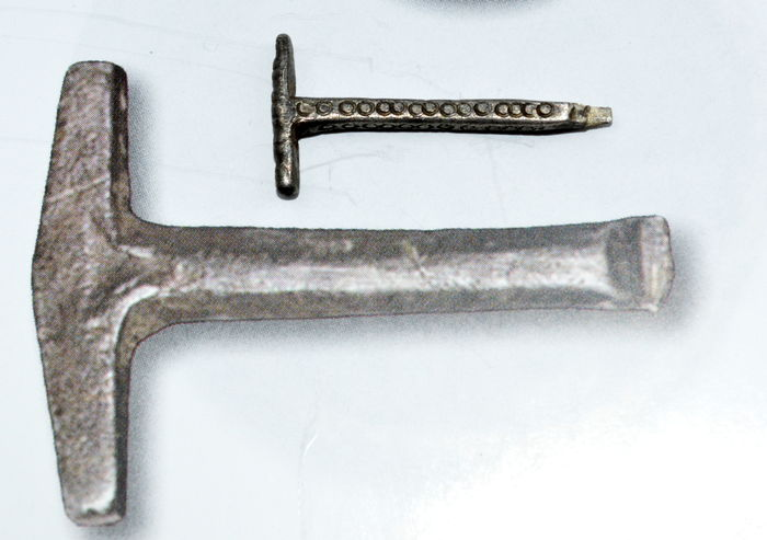 rare viking silver thor s hammer amulet decorated with