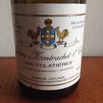 Check out our Domaine Leflaive, Folatières 2006