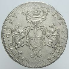 Republic of Genoa – 2 Lire 1712 – Silver