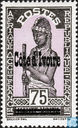 Stamps of Upper Volta, overprinted
