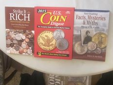 VS – 'Catalogus Coin Digest 2015': 'Strike it Rich', 'Facts, Mysteries & Myths about USA coins'