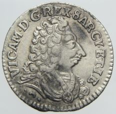 Kingdom of Sardinia – Royal 1727 for Sardinia Vittorio Amedeo II – Silver