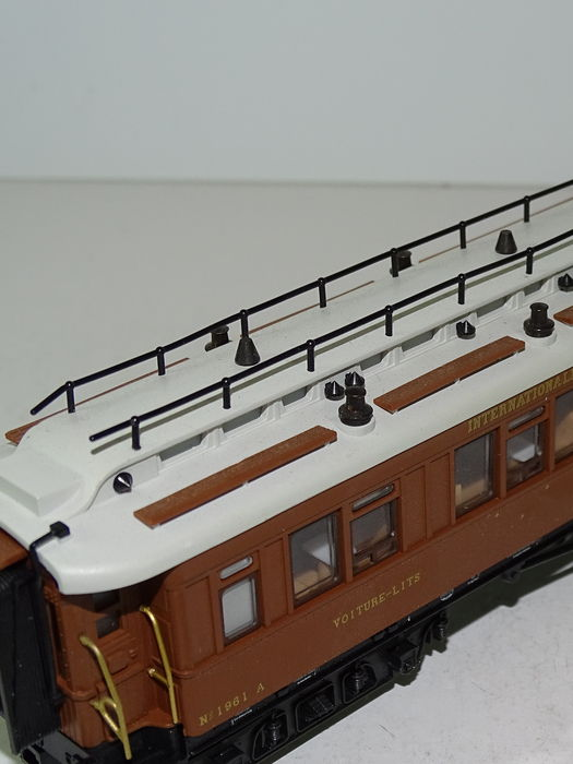 M rklin h0 42760 2 rare private carriages of the - Compagnie des wagons lits recrutement ...