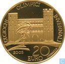 "Italië 20 euro 2005 (PROOF) ""2006 Olympic Winter Games Torino - Palatine Gate"""