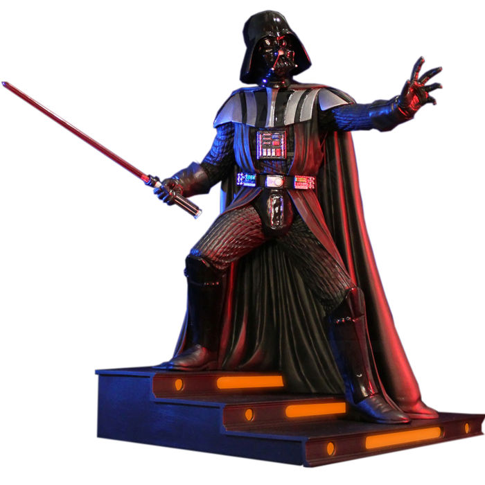 Star Wars Gentle Giant Statue 16 Scale Darth Vader In The