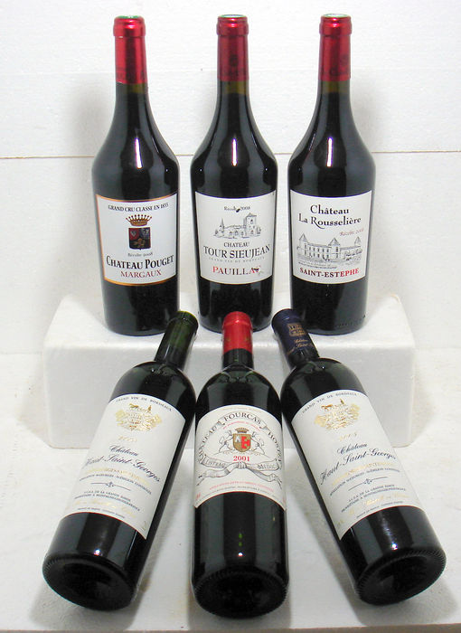 assortment of top bordeaux wines catawiki. Black Bedroom Furniture Sets. Home Design Ideas