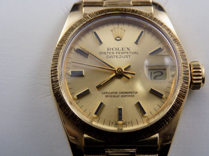 Rolex Oyster Perpetual Datejust 11635 Ladies Watch Catawiki
