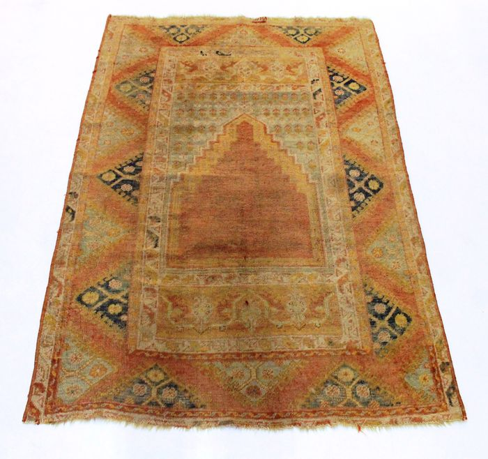 Beautiful Antique Hand-knotted Oriental Carpet Anatolia