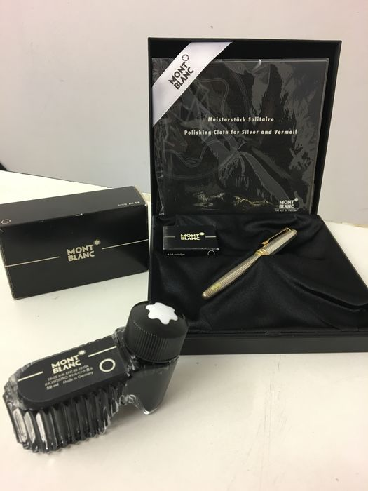 montblanc stylographic pen mod meisterstuck legrand solitaire