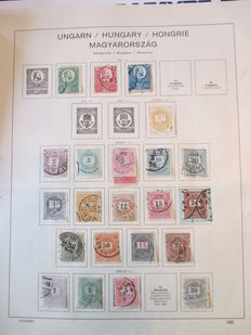 Hungary 1867/1939 - stamp collection