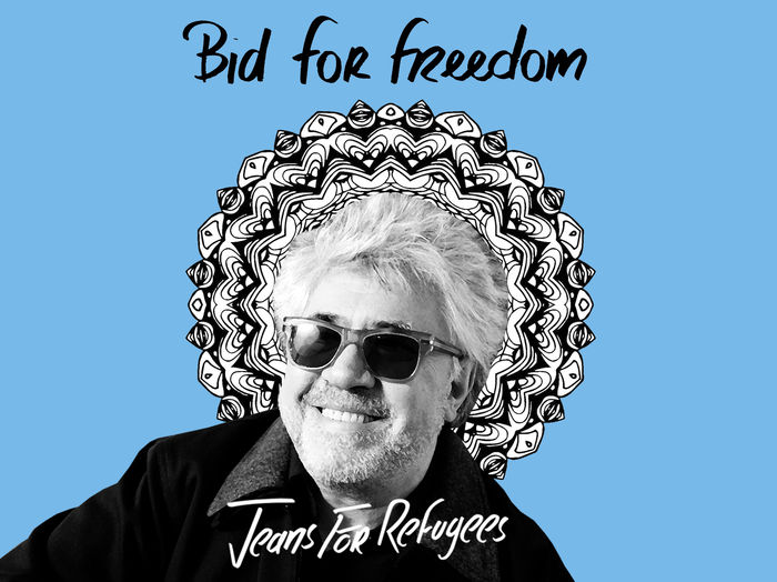 Pedro Almodovar's -Jeans for Refugees