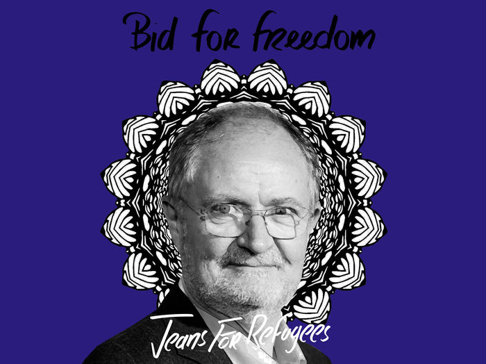 Jim Broadbent's - Jeans for Refugees