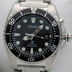 Seiko Prospex Kinetic Professional Diver's 200m - Nuovo - Orologio uomo - New Kinetic men's watch