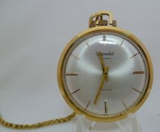 Gigandet. Men's pocket watch. Circa, 1950-1960.