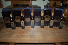 6 bottles - Johnnie Walker Private House Zodiacs set of 6
