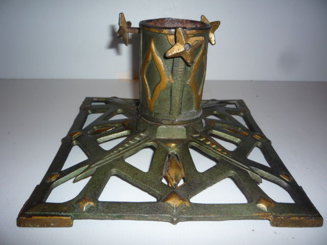 Large cast iron christmas tree stand catawiki