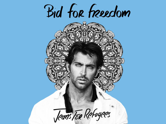 Hrithik Roshan's - Jeans for Refugees
