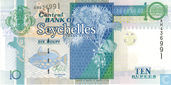 Seychelles 10 Rupees 2013