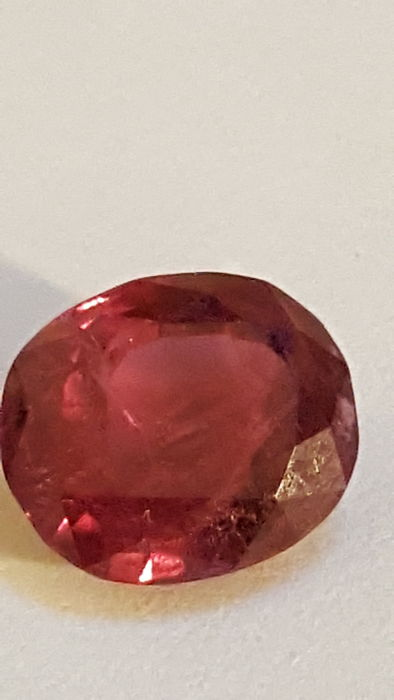 1 pcs  Rubis - 3.56 ct