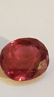 Ruby - 3.56 ct